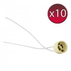 Gniazdo GU10 x10